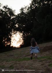 April: Sunset 10 (of 17) by chrismaverick