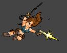 Lara Croft by KaywonnJuto