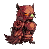 Steampunk Owly by KaywonnJuto