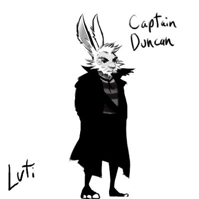 Captain Duncan Doodle 000 by KaywonnJuto