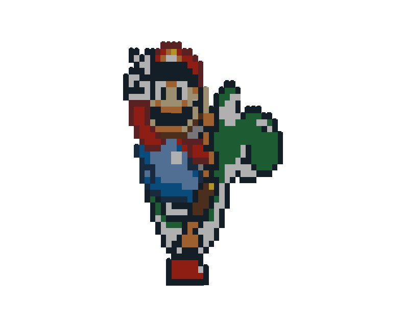 Mario n Yoshi-Happy B-day Lii by Laro44
