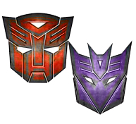 Movie TF Logos colored by HotRod0521