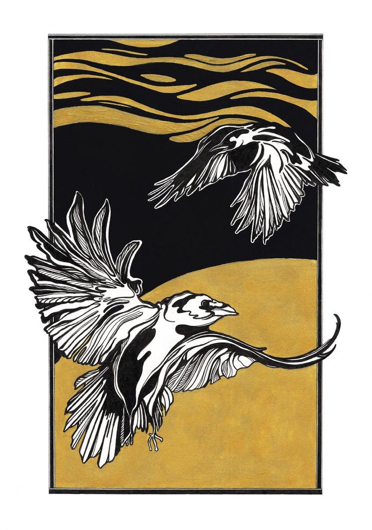birds by molsz
