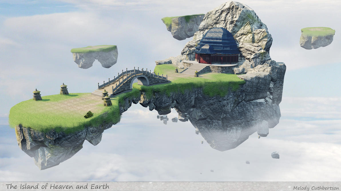 The Islands of Heaven and Earth by RedVanda