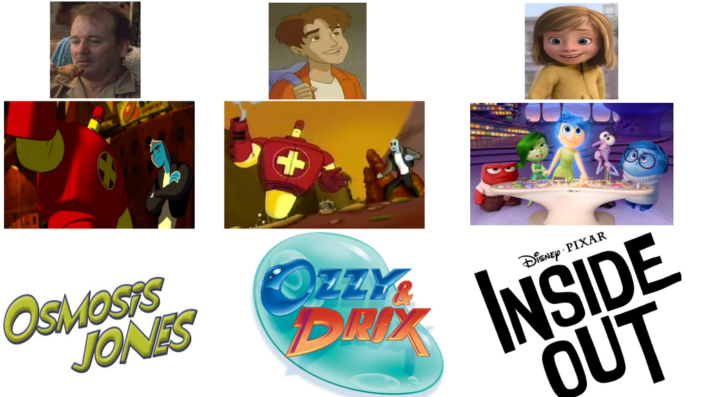 Ozzy And Drix Characters Osmosis Jones, Ozzy an...