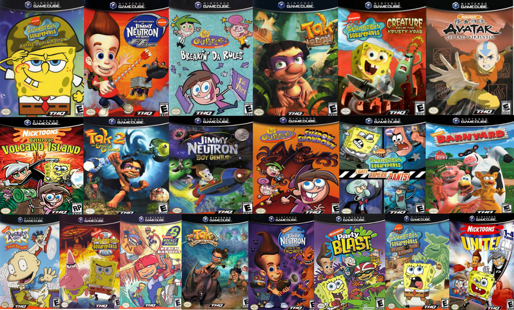 GameCube Nick Games by Evanh123 on DeviantArt
