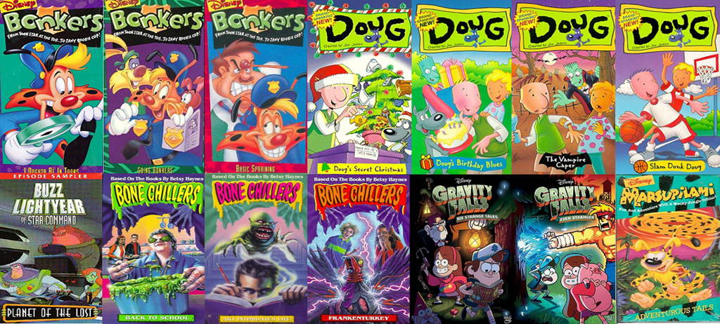 Doug Christmas Story Vhs.Disney Vhs And Dvd Releases By Evanh123 On Deviantart