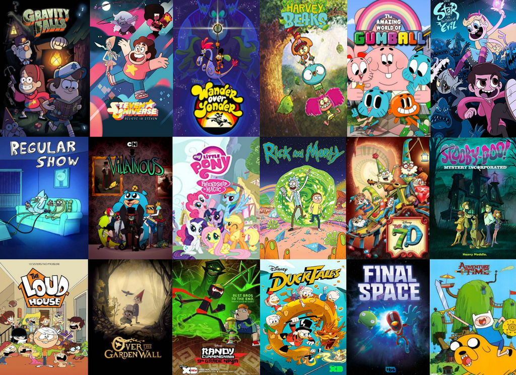 The Best Animated TV Shows Of The 2010's by Evanh123 on