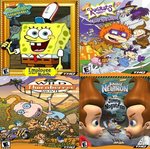 Nickelodeon: 2002 PC Video Games by Evanh123