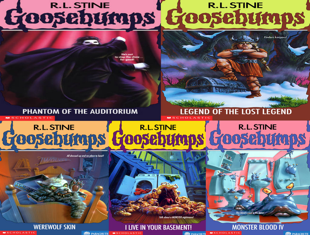 Goosebumps Books That Never Got 2003 Reprints By Evanh123 On Deviantart