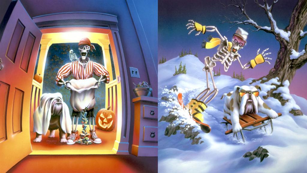 Halloween And Christmas.Ttgy Goosebumps Halloween And Christmas Books By Evanh123