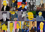 The Simpsons: U.S. Presidents by Evanh123