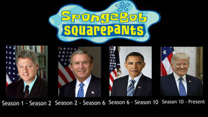 SpongeBob: Presidents During The Show