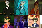Mystery Incorporated: Darrow University Faculty by Evanh123