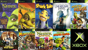 DreamWorks Video Games For Xbox