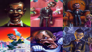 Goosebumps: Slappy On The Book Covers