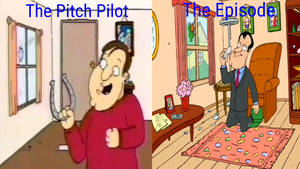 Family Guy: Two Versions Of The Penis Scene
