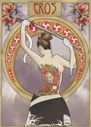Eros Art Nouveau by Lunarmony