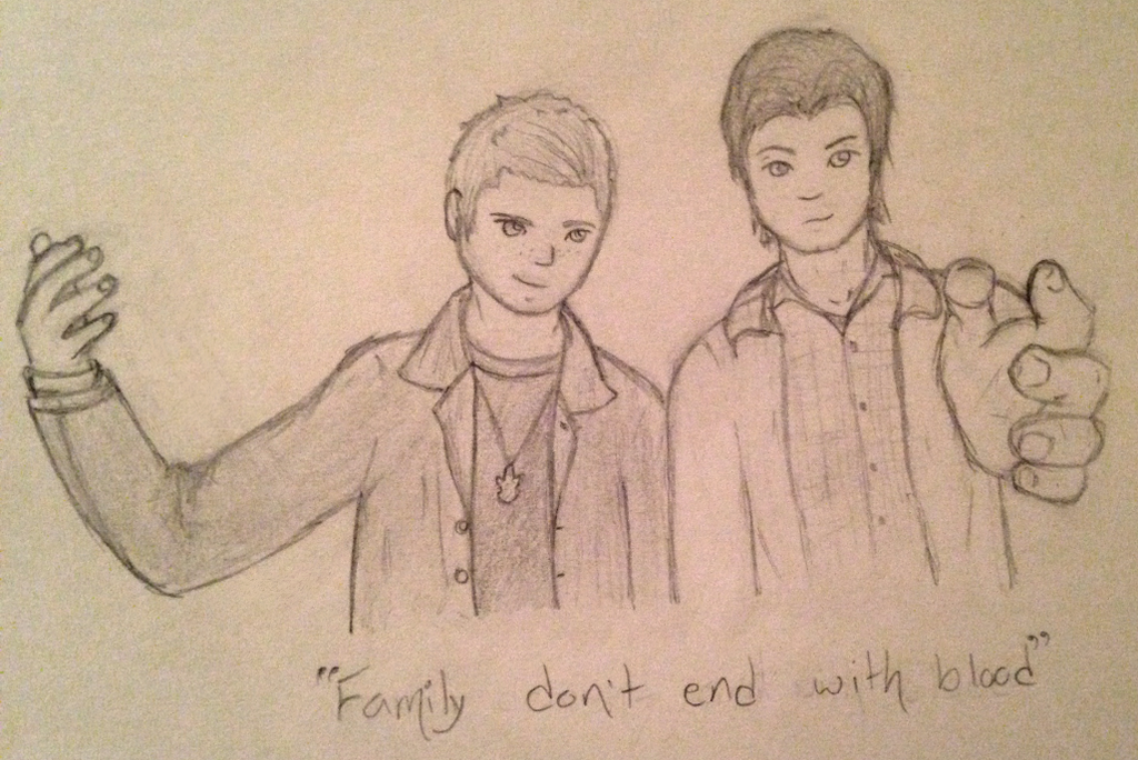 Family Don't End With Blood by 314pyper