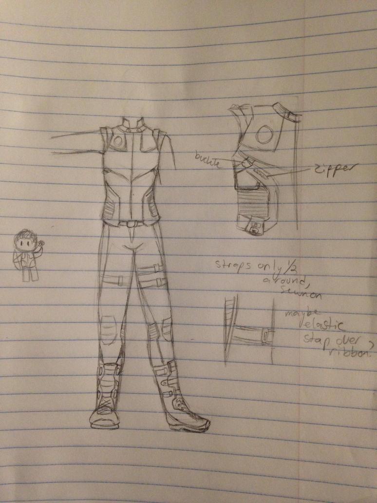Hawkeye doodles by 314pyper