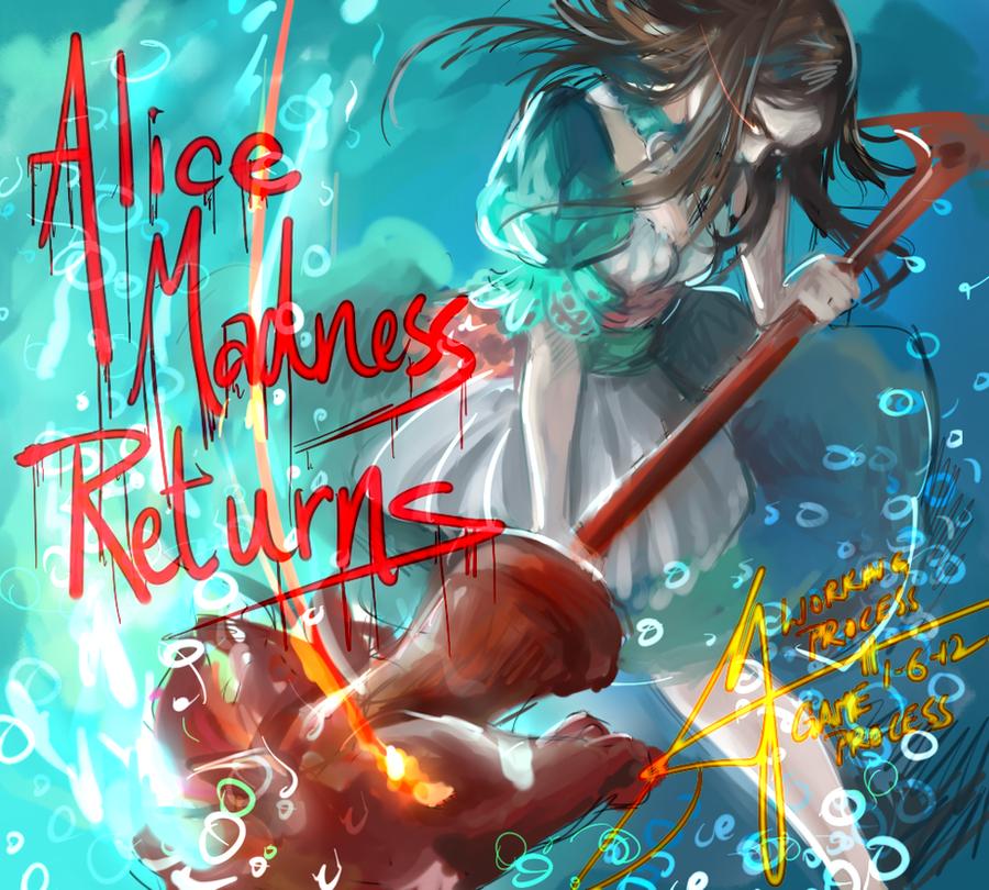 Alice Madness Returns by monkeyyan