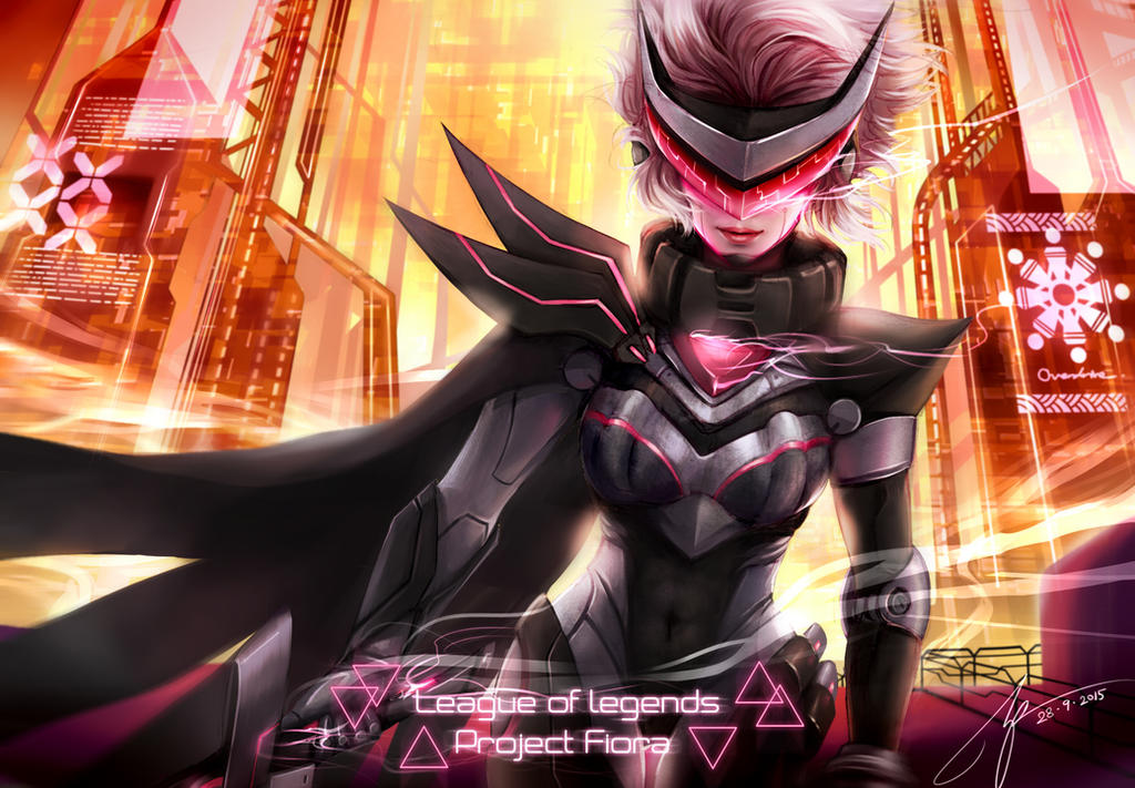 Project Fiora by monkeyyan on DeviantArt