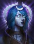 Pillars of Eternity - Female Moon Godlike Portrait