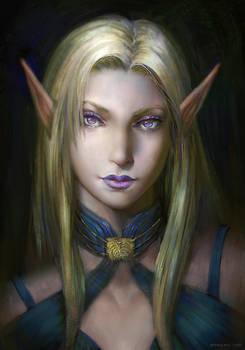 Pillars of Eternity - Female Elf Portrait