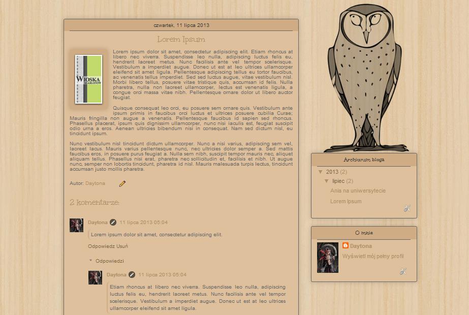 [1178] Owl by Daytona MT by weroniki