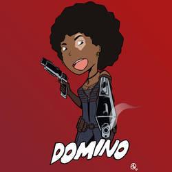 Domino - Zazie Beetz by Adriansdesign