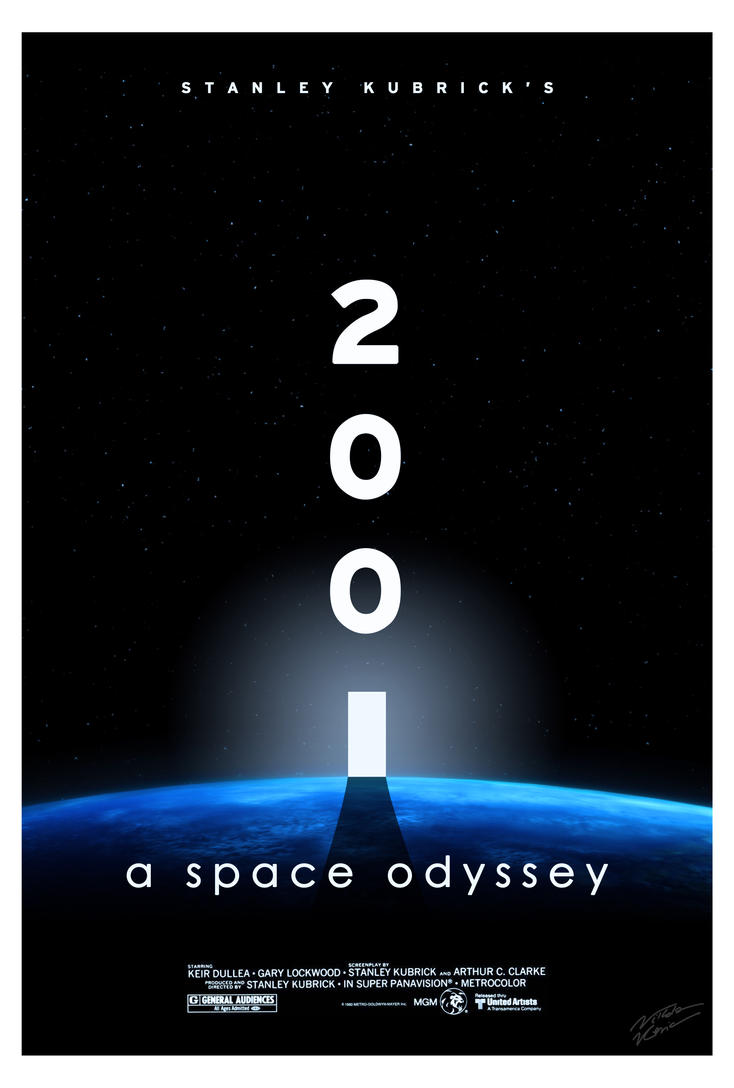 2001: a space odyssey (v.1) - aliasniko fan art by aliasniko