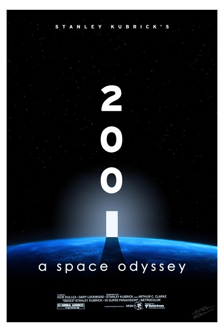 2001: a space odyssey (v.1) - aliasniko fan art by aliasniko