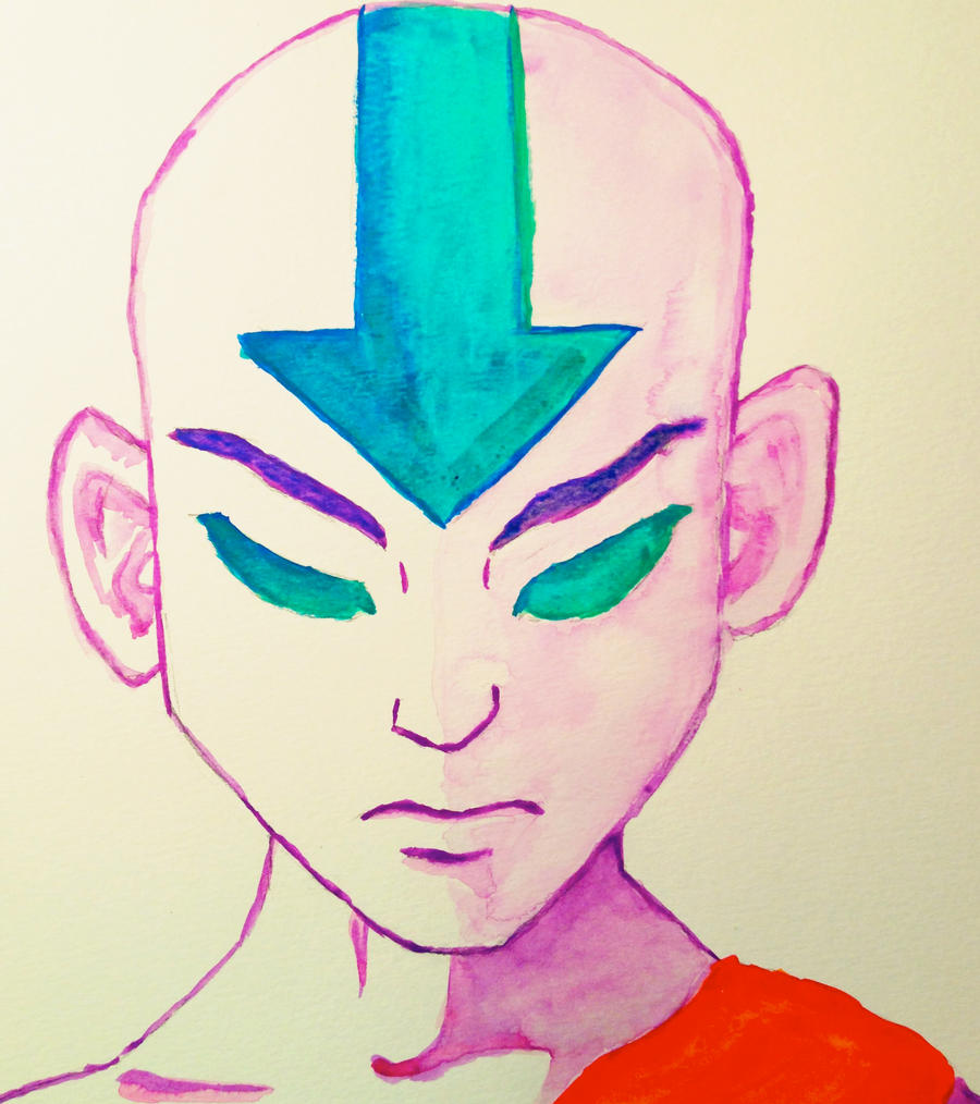 Movie Avatar State Aang: Aang: Avatar State By Cckessler11 On DeviantArt