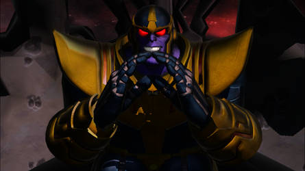 [MMD] Thanos-Cartoonishly Evil by Glitch--Gamer