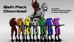 [MMD] Geth Model Pack Download by Glitch--Gamer
