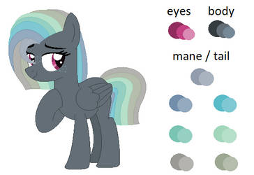 New Oc -Colour And Info- by PurplePonys4Life