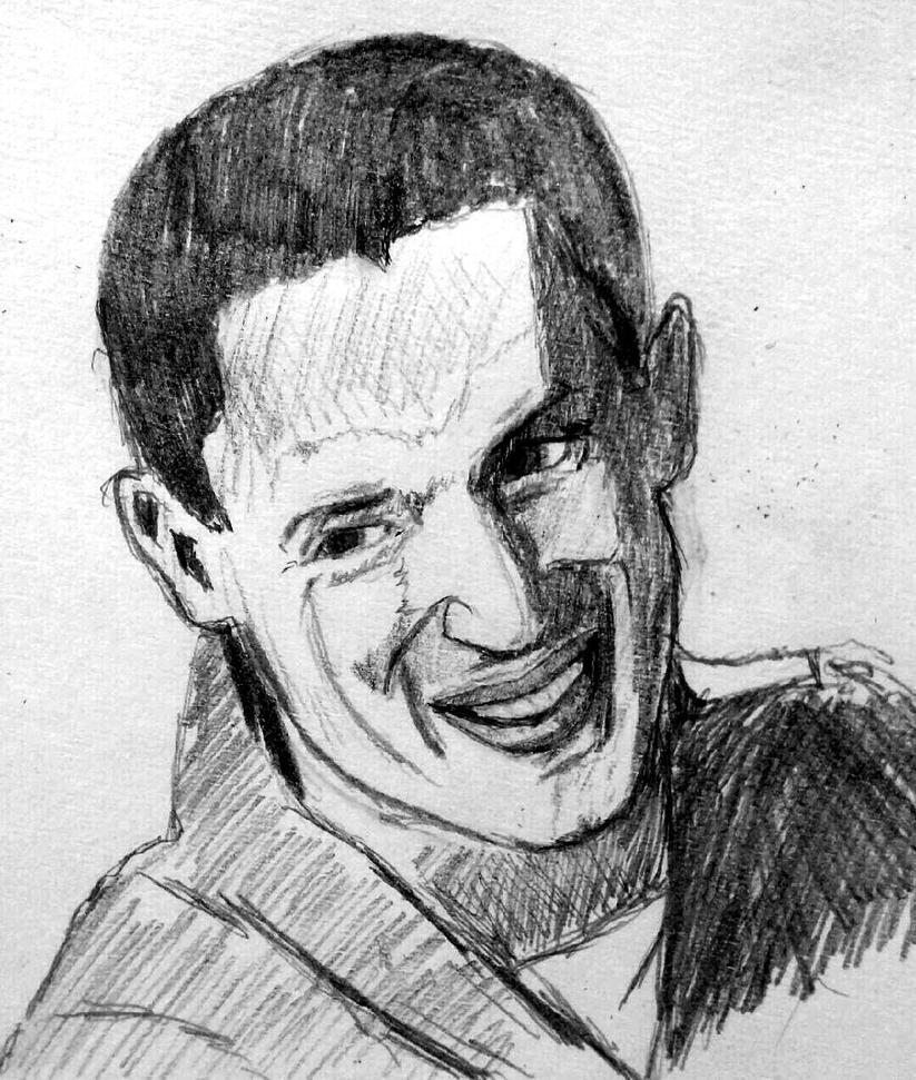 Wentworth Miller Big Smile by lucigirl on DeviantArt