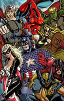 Avengers Color by SCMartel