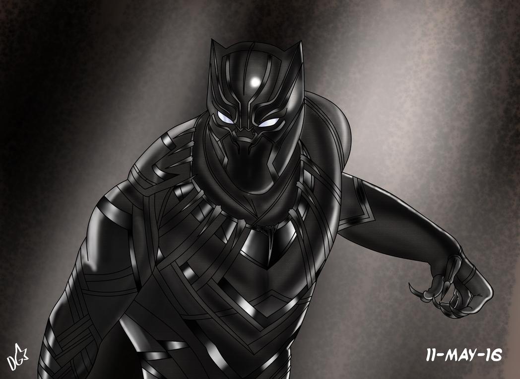 Black Panther By Portela On Deviantart: Black Panther By Dgaskins On DeviantArt