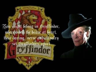 Gryffindor McGonagall Wallp