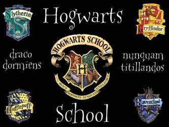 Hogwarts Simple Wallpaper