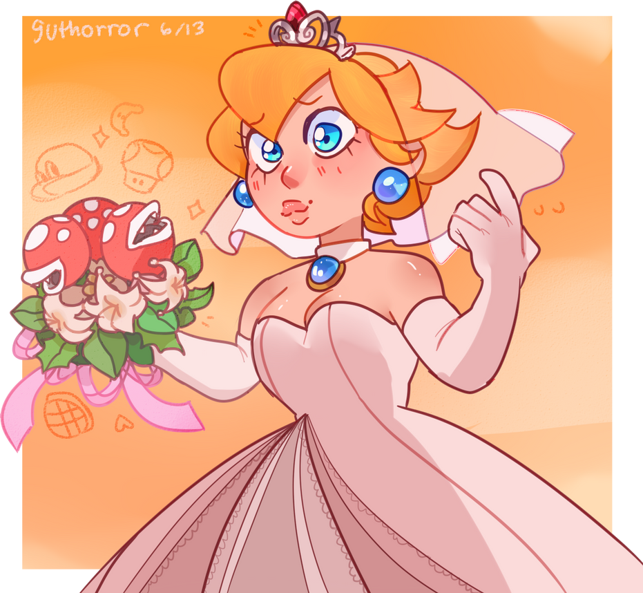 1up Mario And Peach