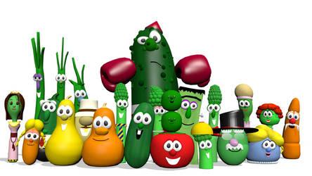 VeggieTales Blender Pack (DOWNLOAD)