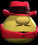 Mr. Lunt as Haman