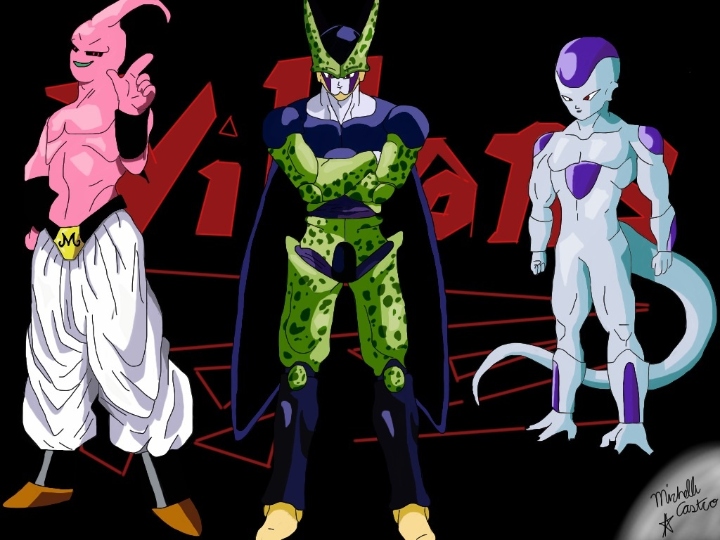 Dragonball Z Villains by xPinayxx