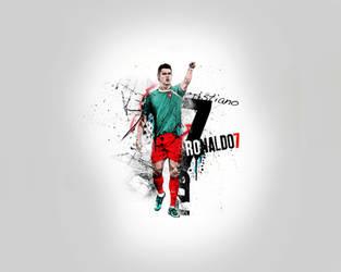 C.Ronaldo Drawing with Fungila by Tottino
