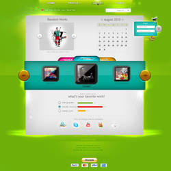 My Site's Layout by Tottino