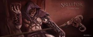 Skeletor by pinkhavok