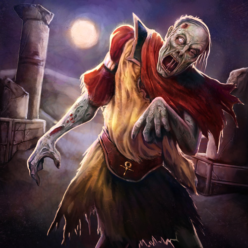 Rotting Zombie by pinkhavok