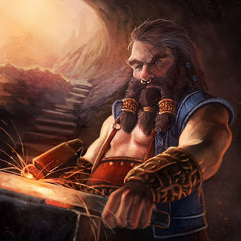 Dwarf by pinkhavok